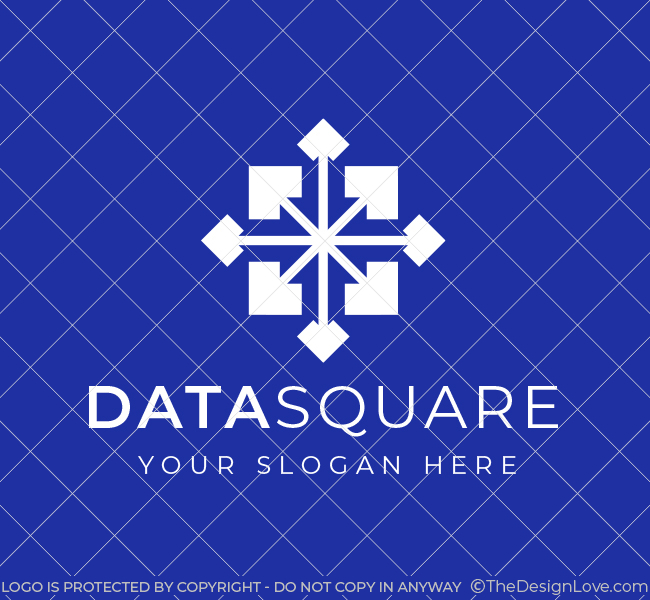 604-Square-Data-Science-Pre-Designed-Logo