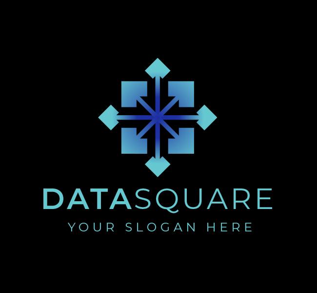 604-Square-Data-Science-Stock-Logo
