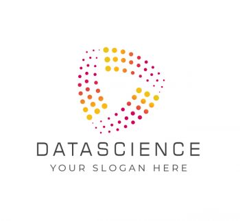 Dynamic Data Science Logo & Business Card