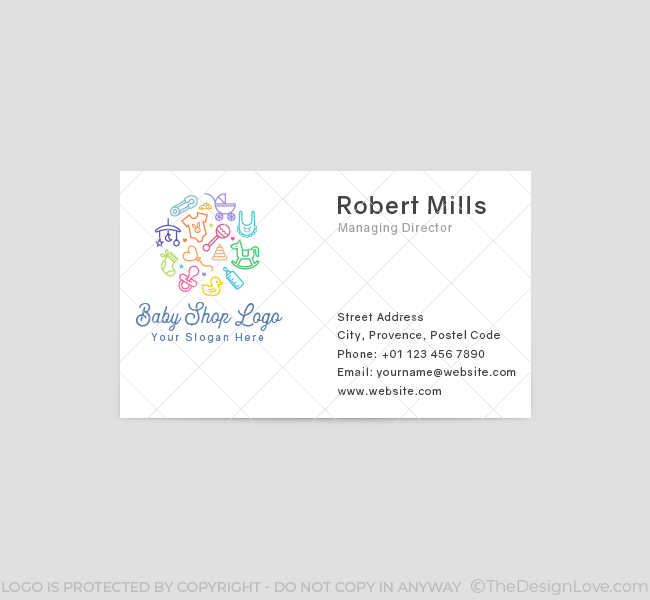 619-Baby-Shop-Business-Card-Front
