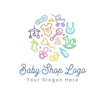Baby Shop Logo & Business Card
