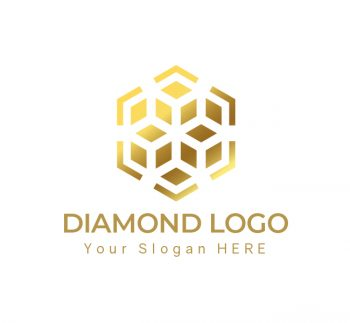 Luxury Diamond Logo & Business Card