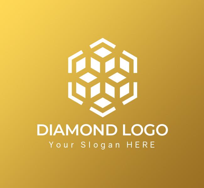 615-Luxury-Diamond-Pre-Designed-Logo