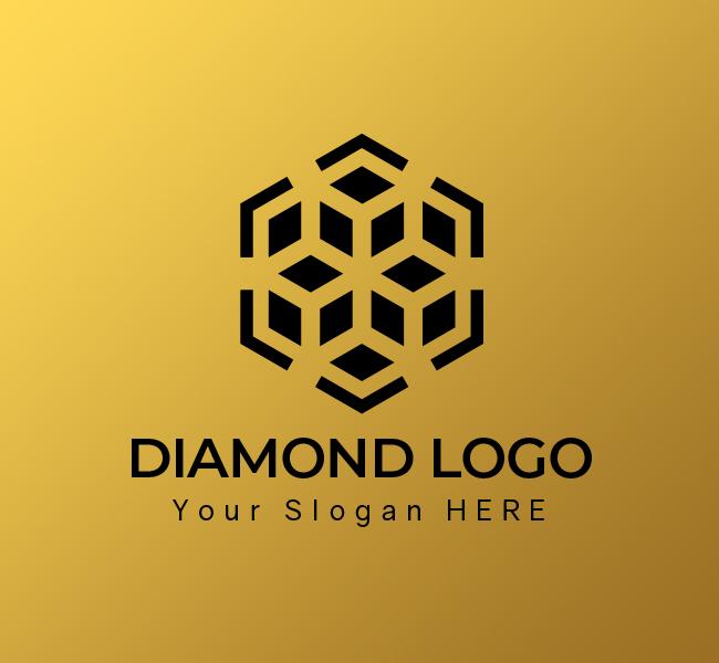 615-Luxury-Diamond-Start-up-Logo