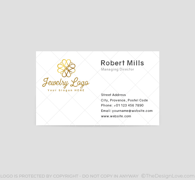 616-Luxury-Jewellery-Business-Card-Front