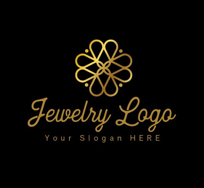 616-Luxury-Jewellery-Stock-Logo