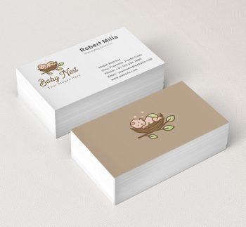 620-Sleeping-Baby-Business-Card-Mockup
