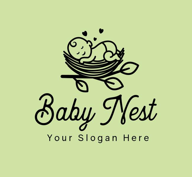 620-Sleeping-Baby-Start-up-Logo