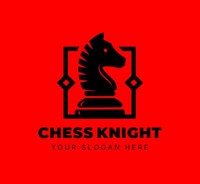 622-Chess-Knight-Start-up-Logo