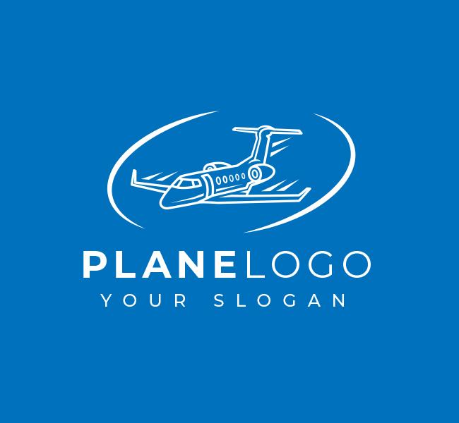 588-Simple-Plane-Travel-Pre-Designed-Logo