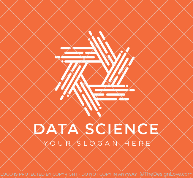 609-Hexagon-Data-Science-Pre-Designed-Logo