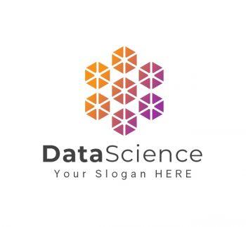 Hexa Data Science Logo & Business Card