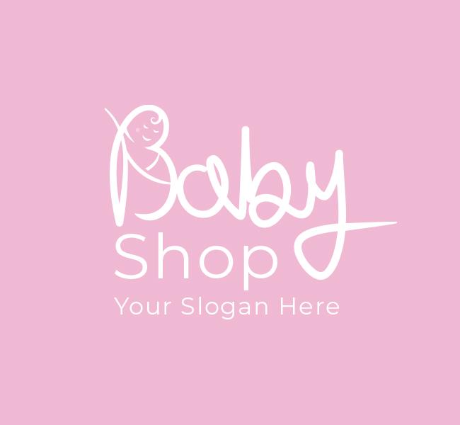 621-Cute-Baby-Shop-Pre-Designed-Logo