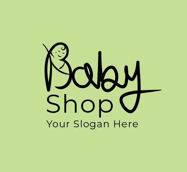 621-Cute-Baby-Shop-Start-up-Logo