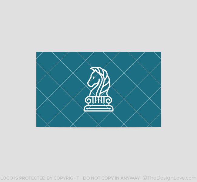 623-Simple-Chess-Knight-Business-Card-Back