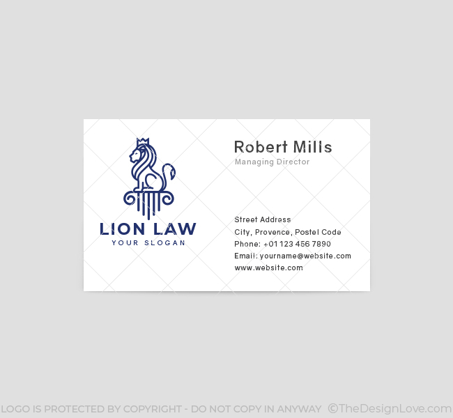 626-Lion-Law-Business-Card-Front