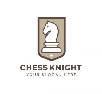 Knight Chess Logo & Business Card