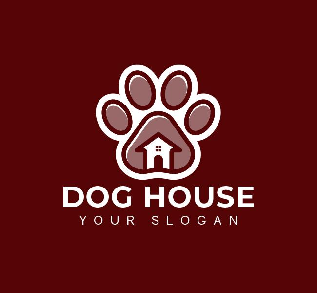 627-Dog-House-Pre-Designed-Logo