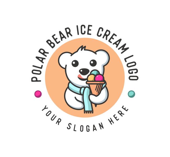 Polar-Bear-Ice-Cream-Logo