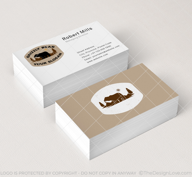 638-Simple-Grizzly-Bear-Business-Card-Mockup