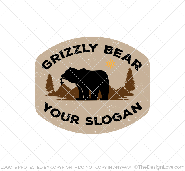Simple-Grizzly-Bear-Logo