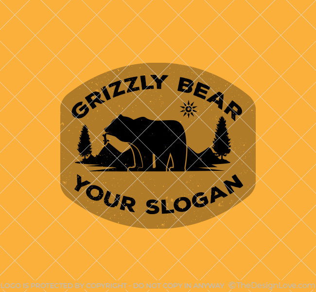638-Simple-Grizzly-Bear-Start-up-Logo