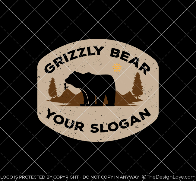 638-Simple-Grizzly-Bear-Stock-Logo