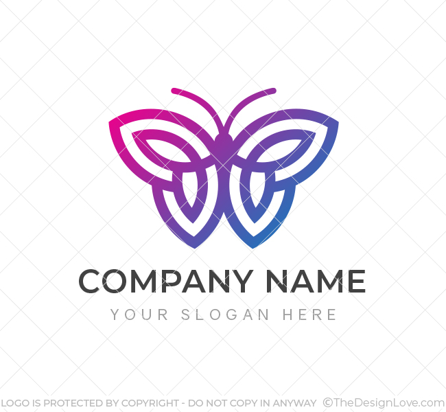 Simple-Butterfly-Logo-Template