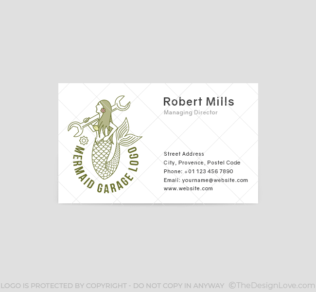 618-Mermaid-Mechanic-Business-Card-Front