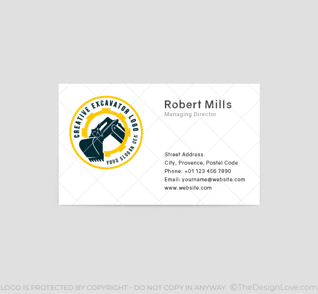 633-Heavy-Excavator-Business-Card-Front