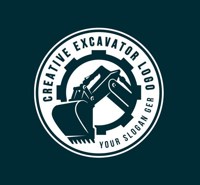 633-Heavy-Excavator-Pre-Designed-Logo