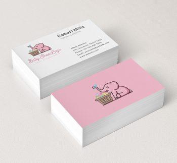 634-Baby-Elephant--Business-Card-Mockup