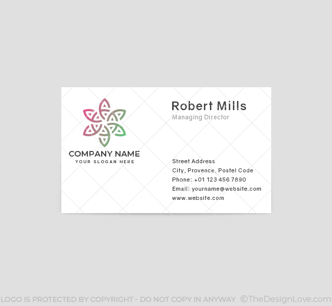 630-Creative-Flower-Business-Card-Front