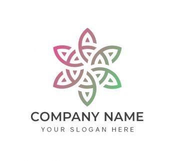 Creative Flower Logo & Business Card Template