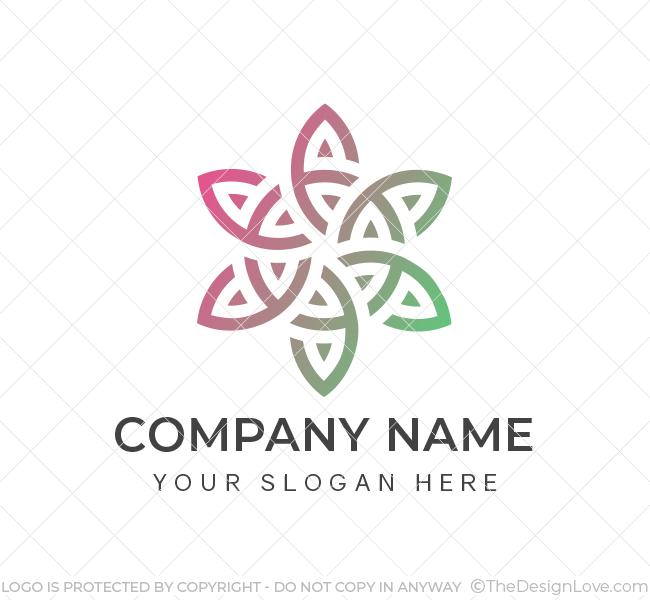 Creative-Flower-Logo