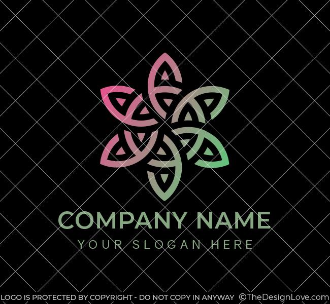 630-Creative-Flower-Stock-Logo