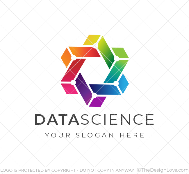 Trendy-Data-Science-Logo