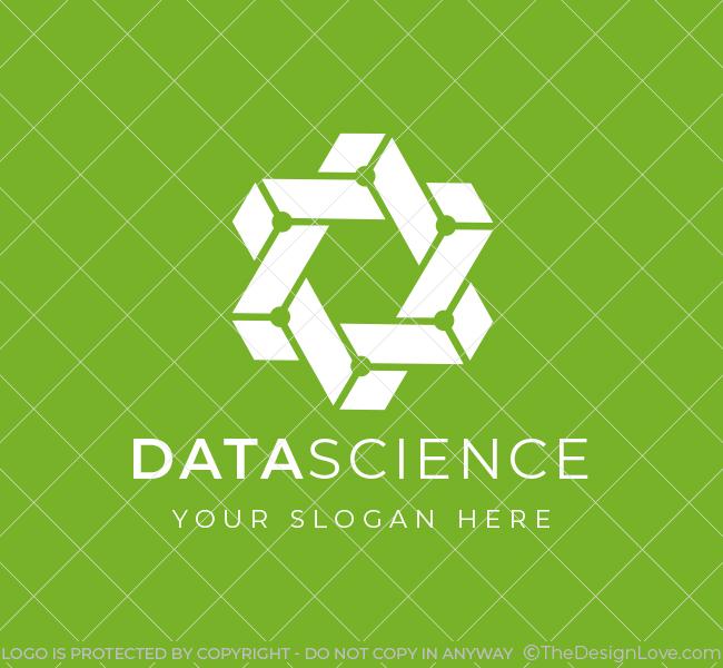 641-Trendy-Data-Science-Pre-Designed-Logo