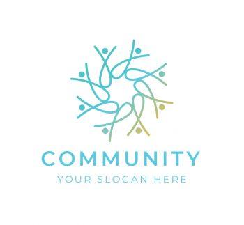 Community Logo & Business Card Template