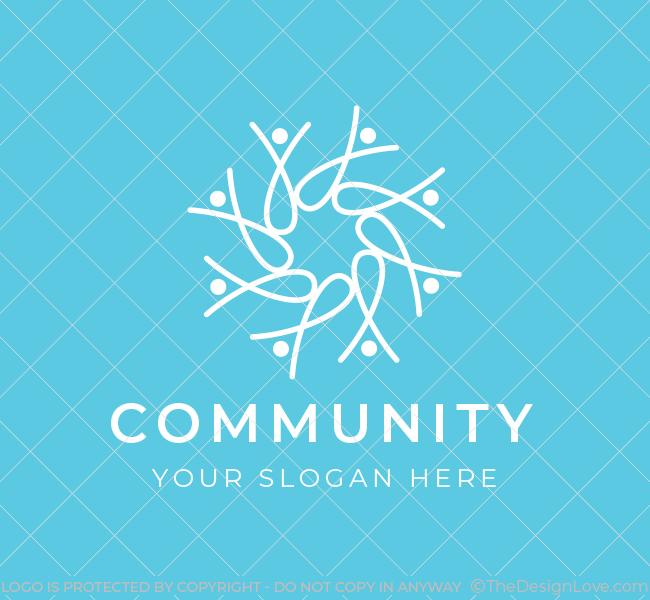 643-Community-Pre-Designed-Logo