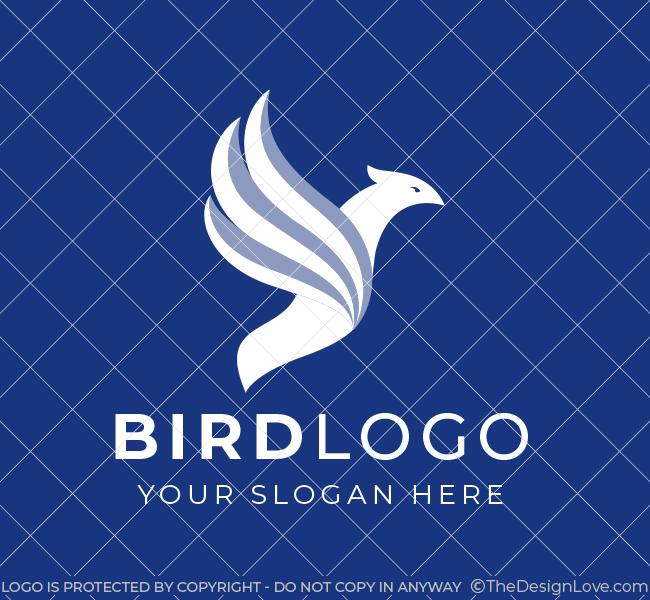 646-Flying-Bird-Pre-Designed-Logo