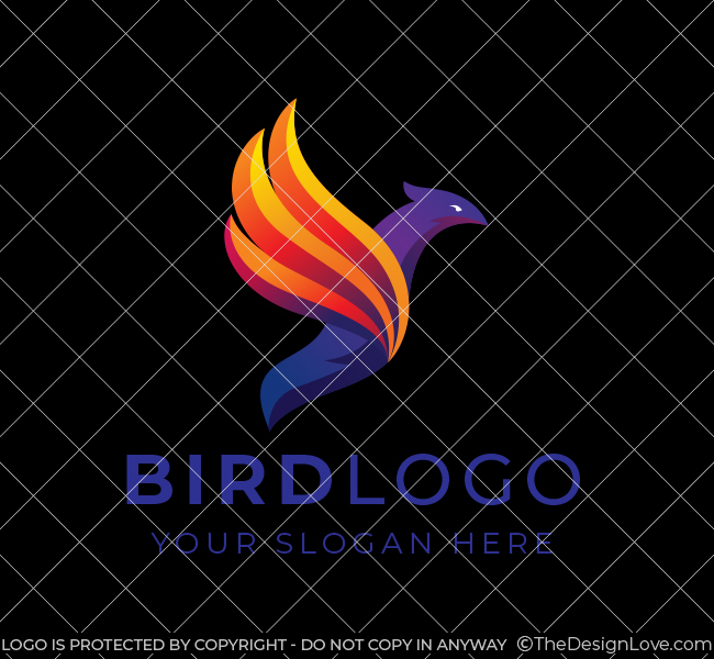 646-Flying-Bird-Stock-Logo